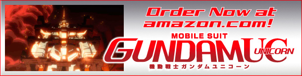 MOBILE SUIT DUNDAM UNICORN Order Now at amazon.com!